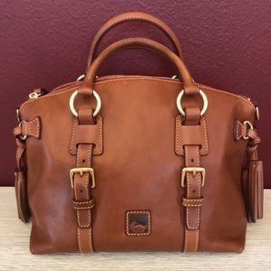 Dooney and Bourke Florentine Bristol Satchel NWOT